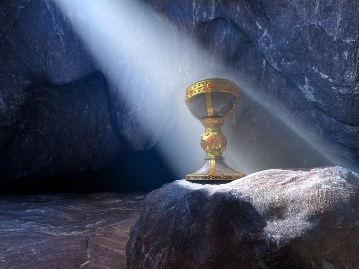 Leyenda del santo grial del camino de santiago