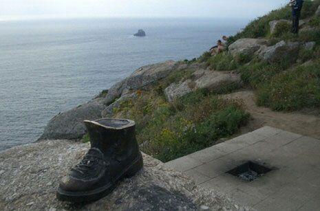 Camino hacia Finisterre