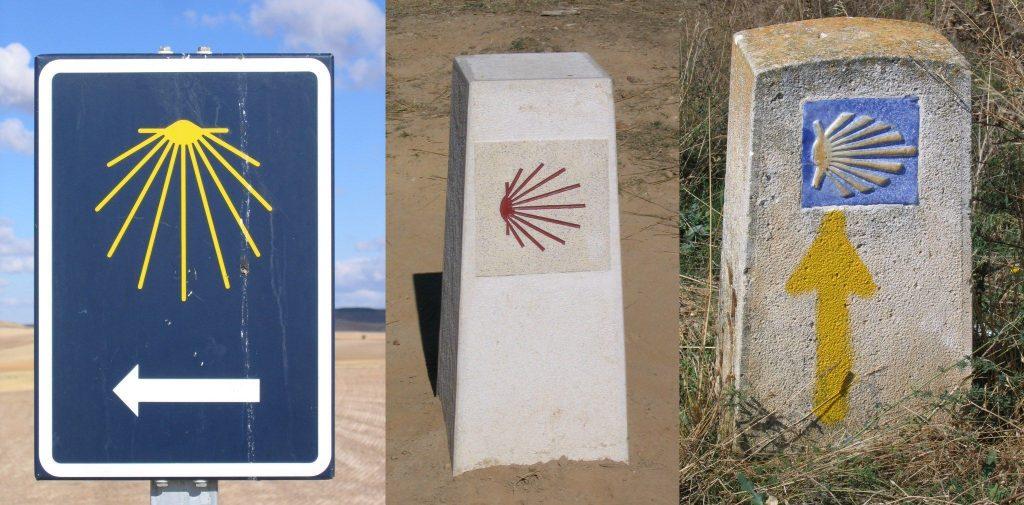 simbolos en el camino de santiago