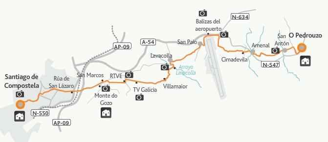 Pedrouzo Französisch Weg