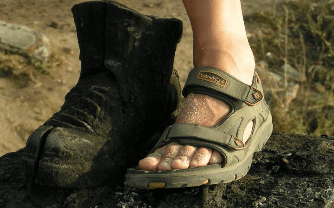 6 consejos para el cuidado de los pies en el Camino