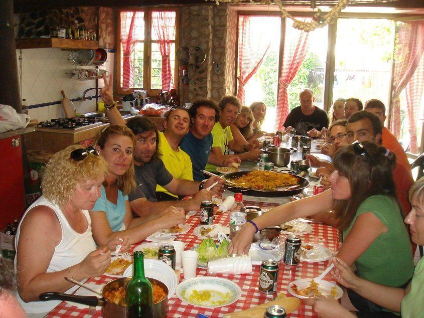 Comida de peregrinos Camino de Santiago