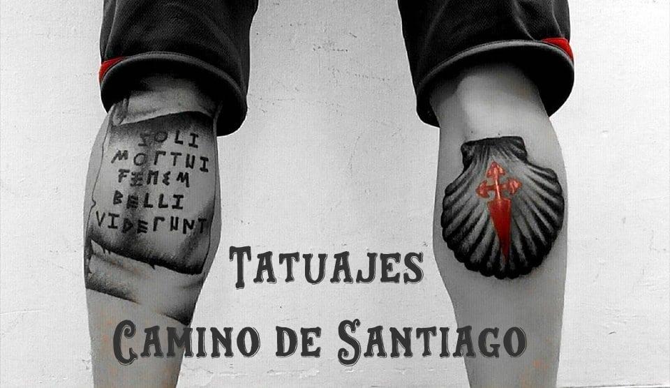 Los tatuajes más alucinantes del Camino de Santiago