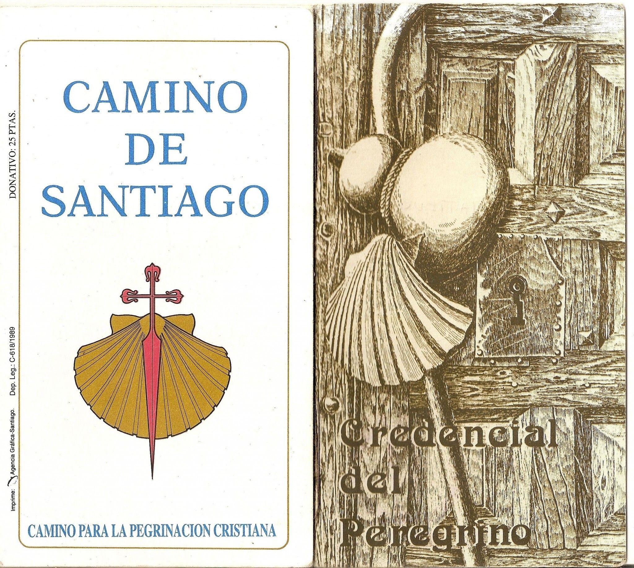 Credenciales del Camino de Santiago